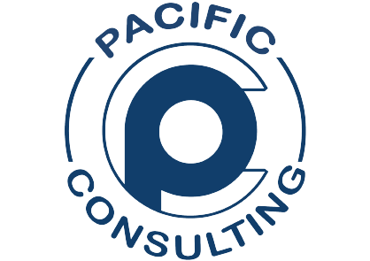 Logo Agence de communication web Pacific Consulting